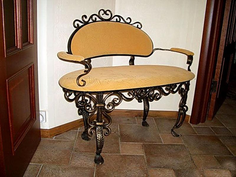 Кованый диван N 15030