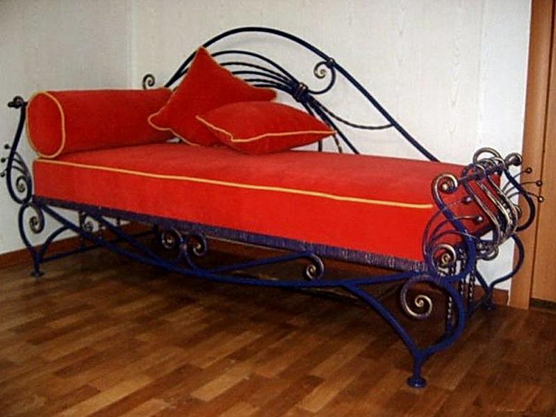 Кованый диван N 15031
