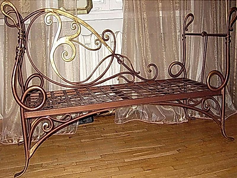 Кованый диван N 15032