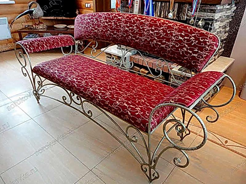 Кованый диван N 15034