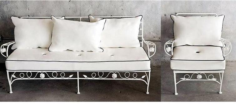 Кованый диван N 15035