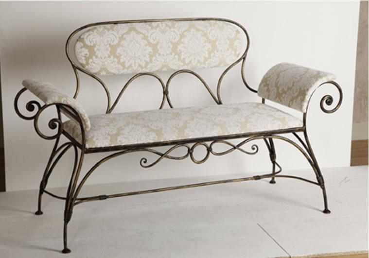 Кованый диван N 15038