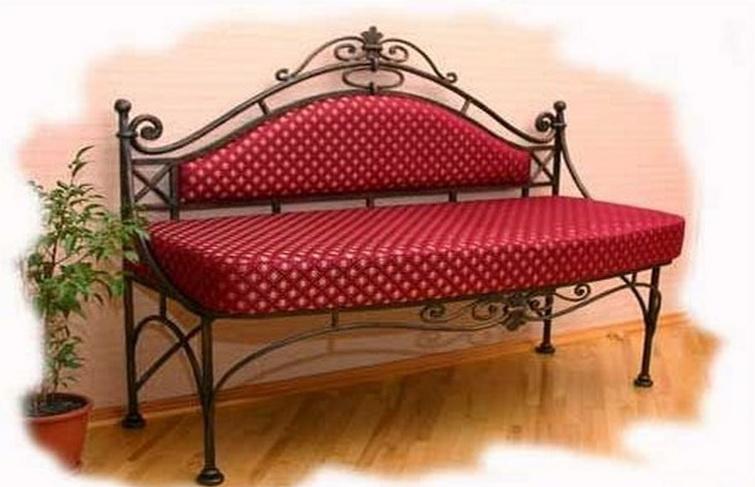 Кованый диван N 15039