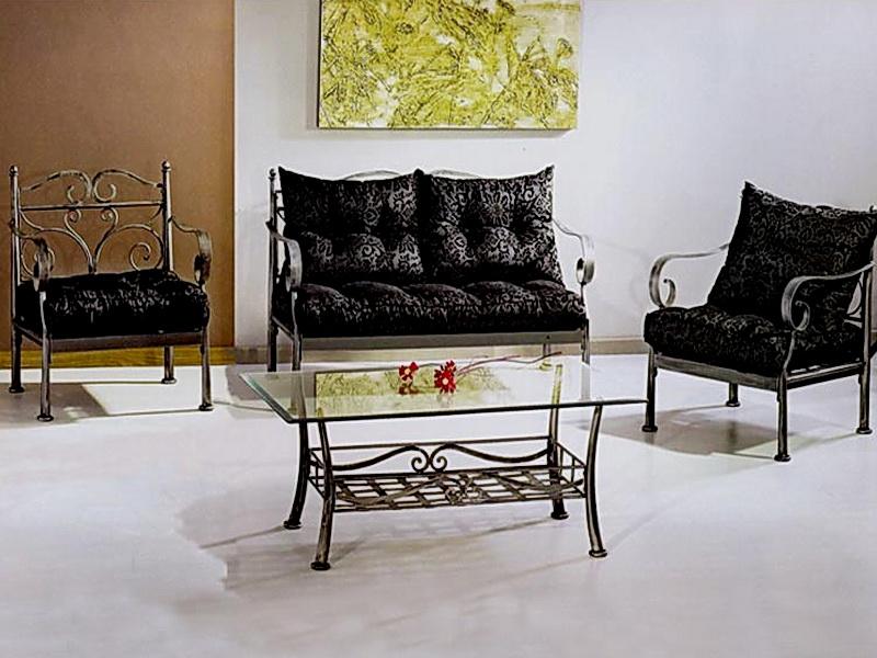 Кованый диван N 15042