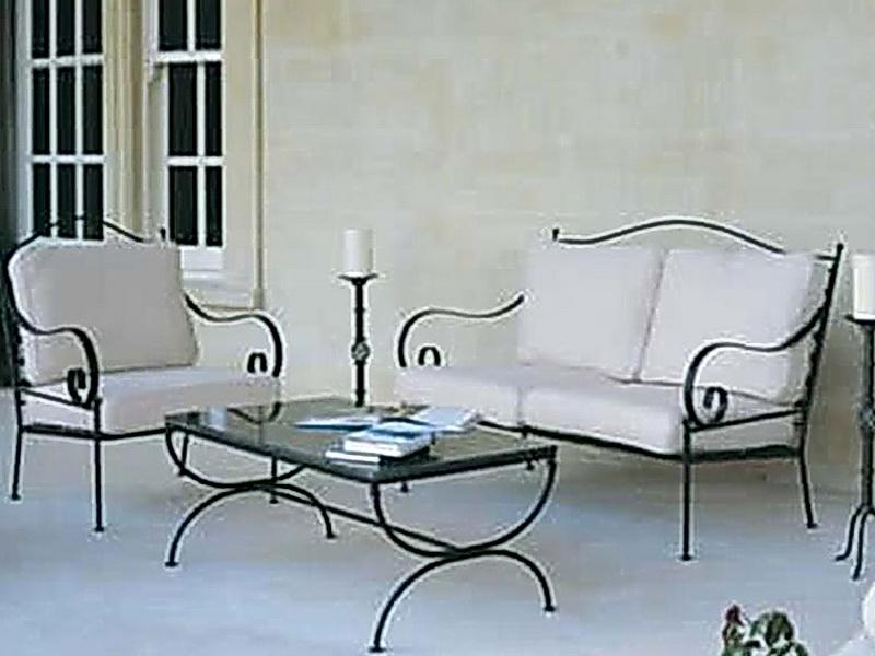 Кованый диван N 15043