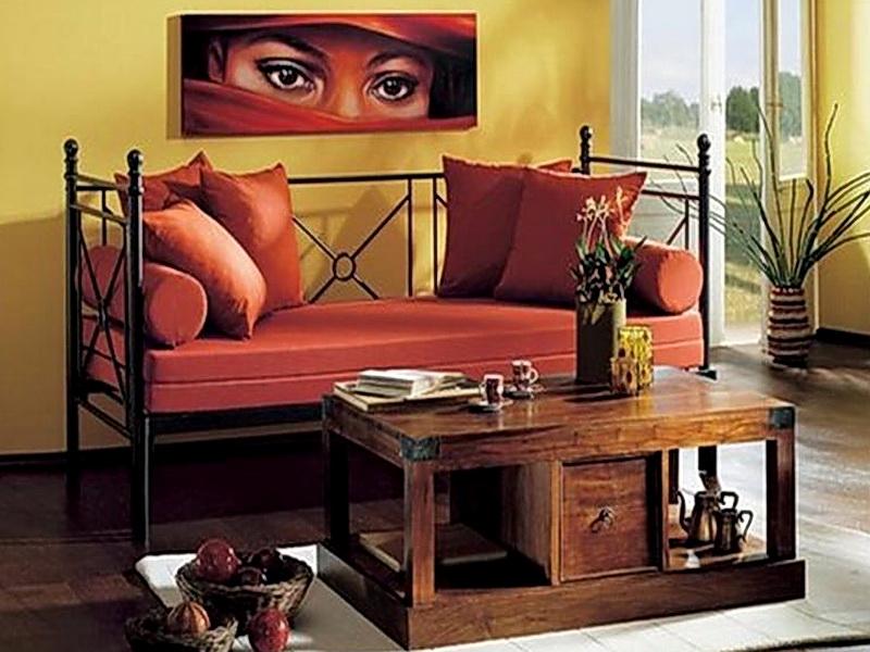 Кованый диван N 15046