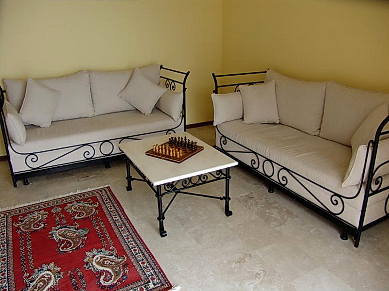 Кованый диван N 15047