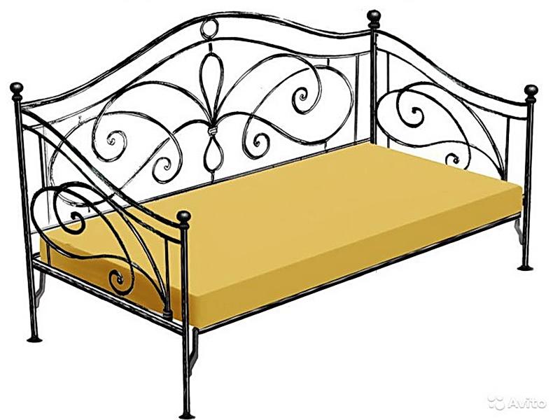 Кованый диван N 15049