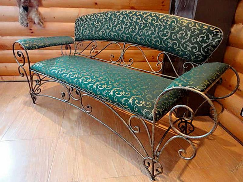 Кованый диван N 15053