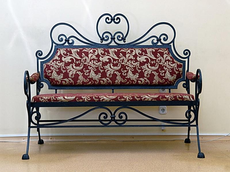 Кованый диван N 15055
