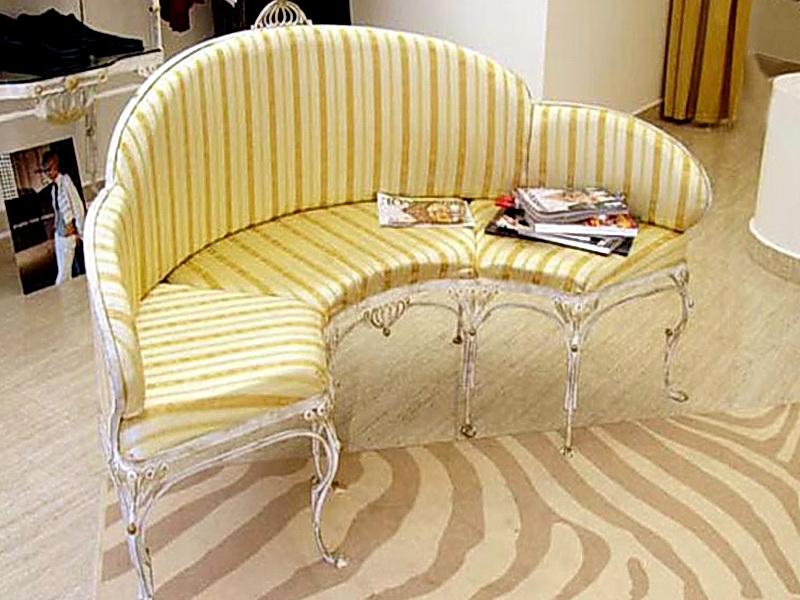 Кованый диван N 15058