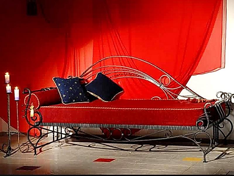 Кованый диван N 15060