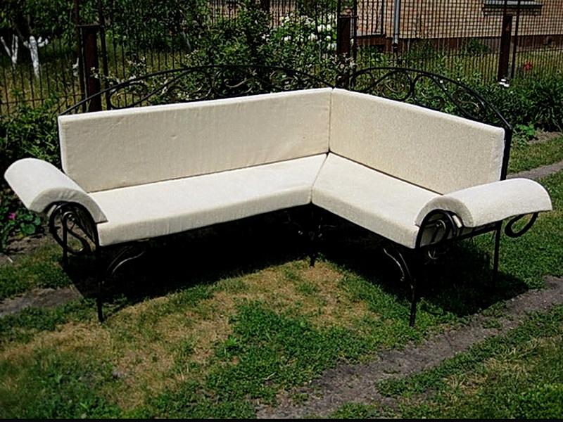 Кованый диван N 15061