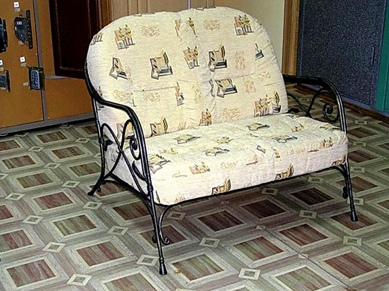 Кованый диван N 15062