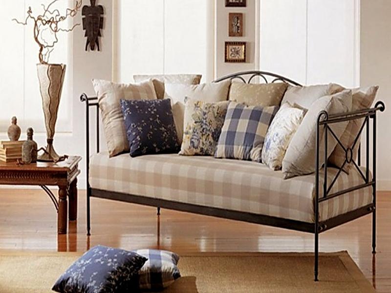 Кованый диван N 15063