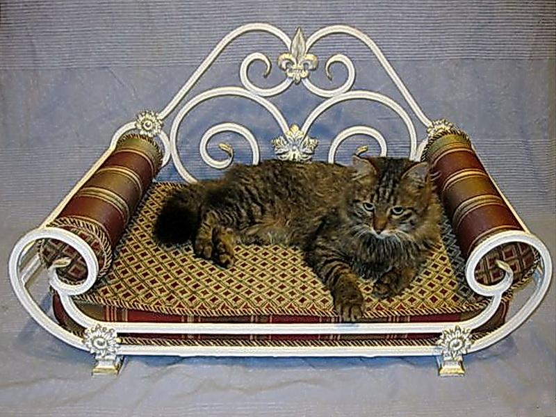 Кованый диван N 15066