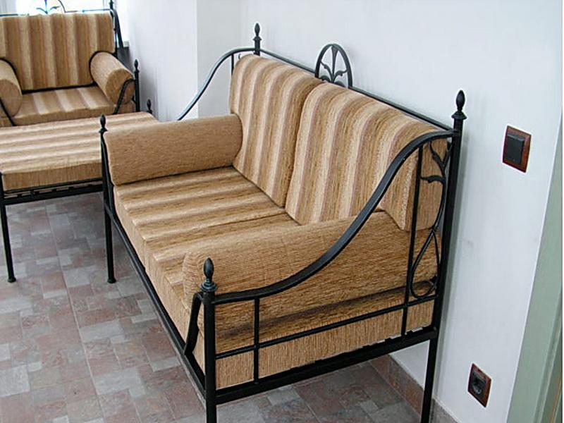 Кованый диван N 15067