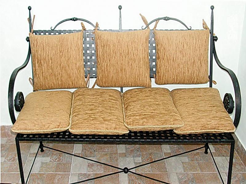 Кованый диван N 15069