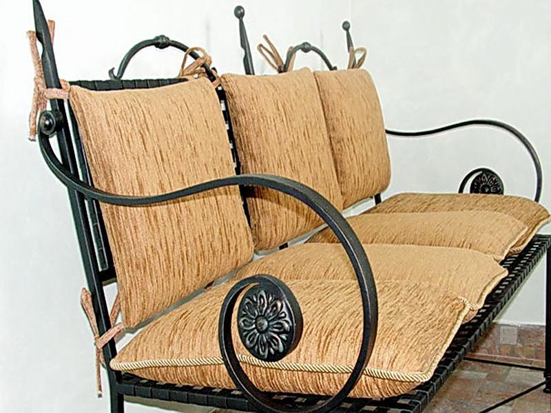 Кованый диван N 15070