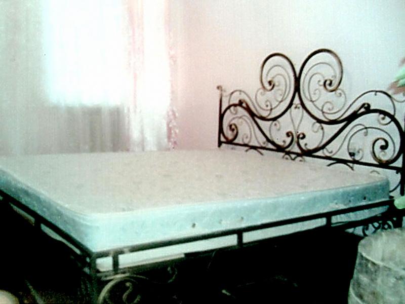 Кованая кровать N 10620