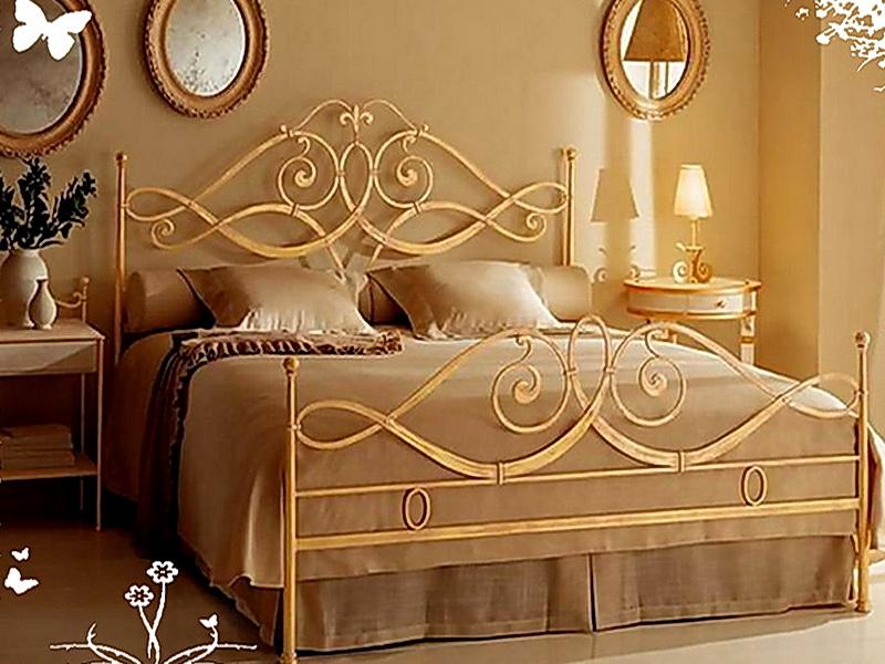 Кованая кровать N 10621