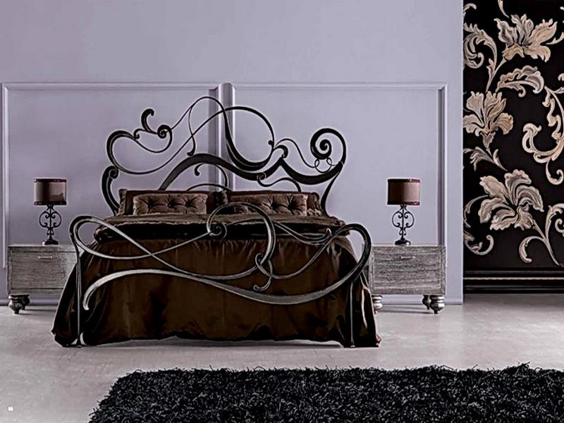 Кованая кровать N 10623