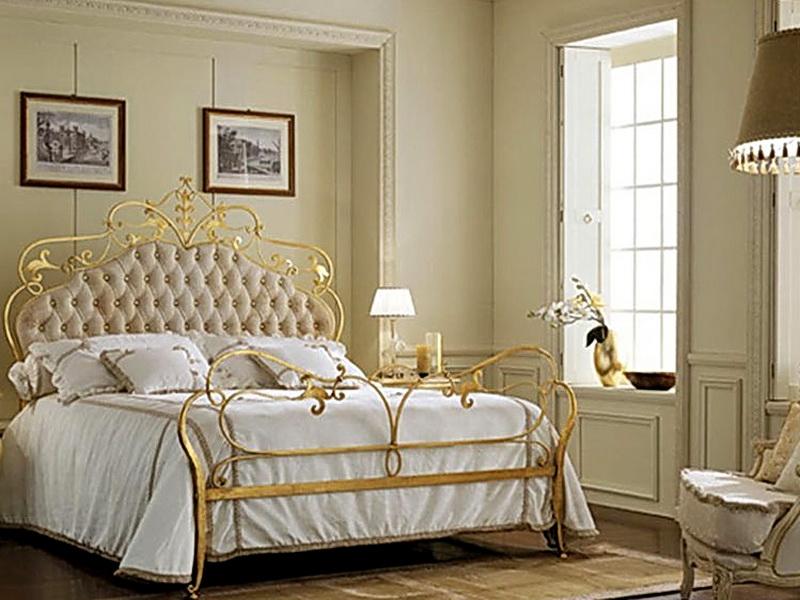 Кованая кровать N 10629