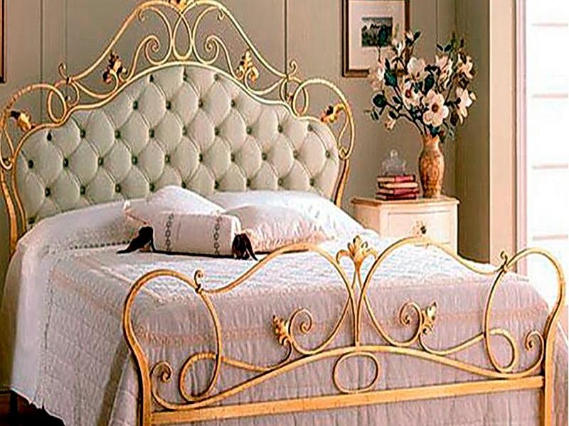 Кованая кровать N 10631