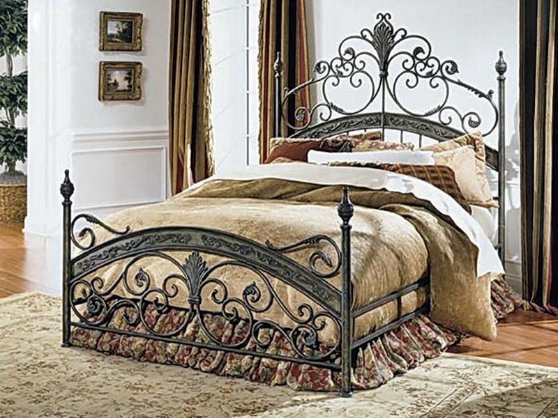 Кованая кровать N 10637