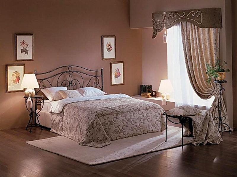 Кованая кровать N 10654