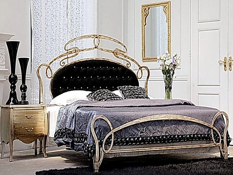 Кованая кровать N 10657