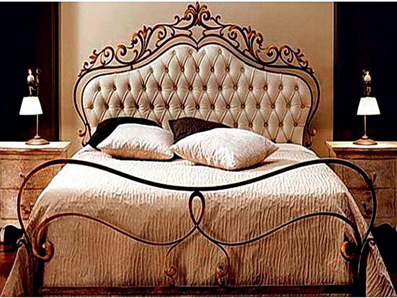 Кованая кровать N 10658