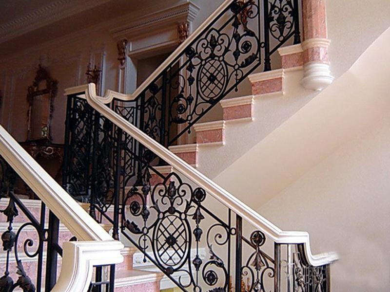 Кованые лестничные ограждения N 4-4016