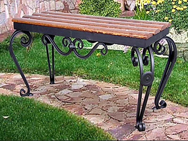 Кованая скамейка N 10908