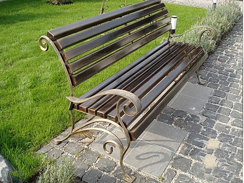 Кованая скамейка N 10922