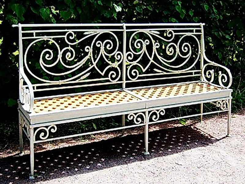 Кованая скамейка N 10926