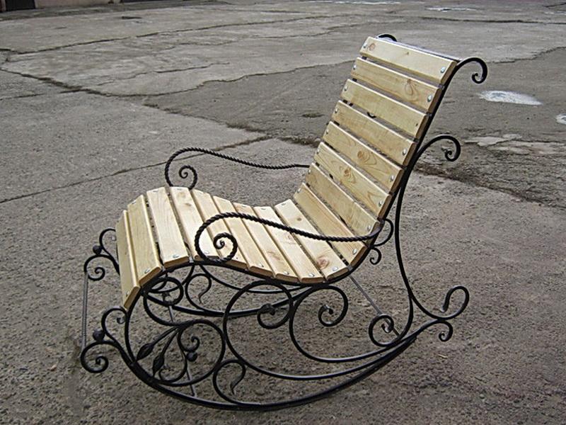 Кованая скамейка N 10928