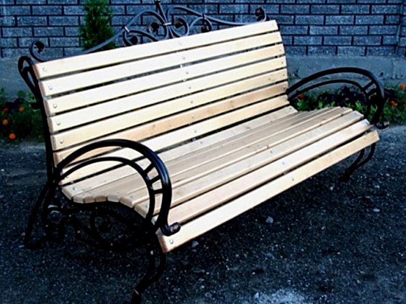 Кованая скамейка N 10933