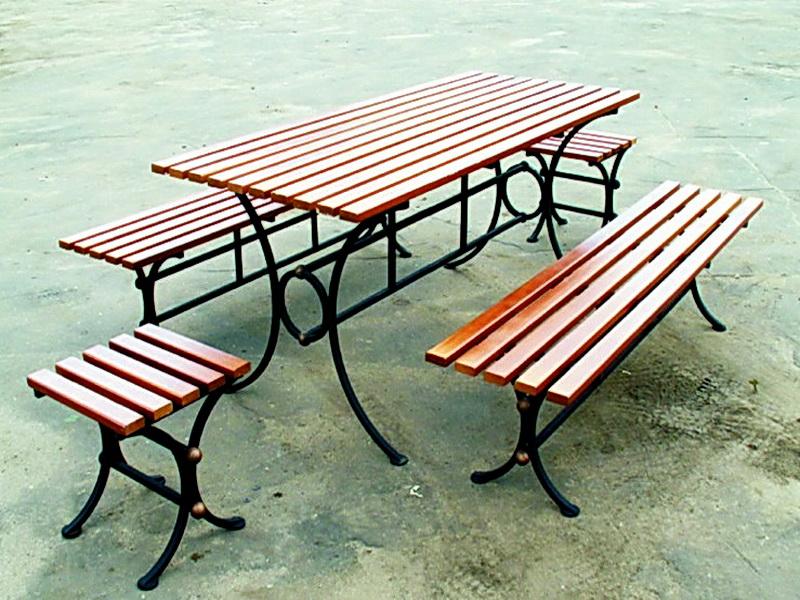 Кованая скамейка N 10938