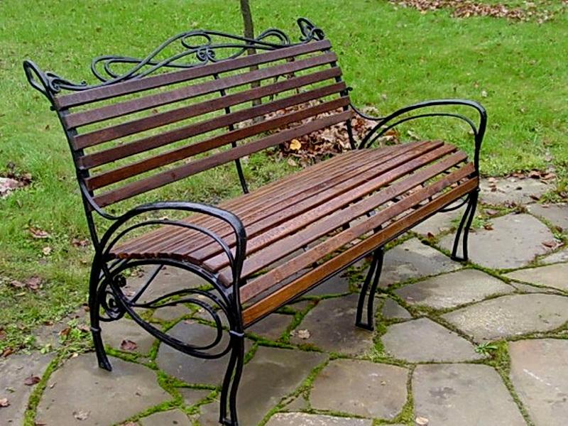 Кованая скамейка N 10941