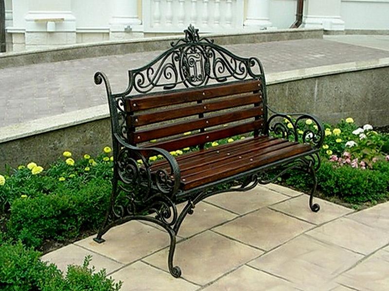 Кованая скамейка N 10942