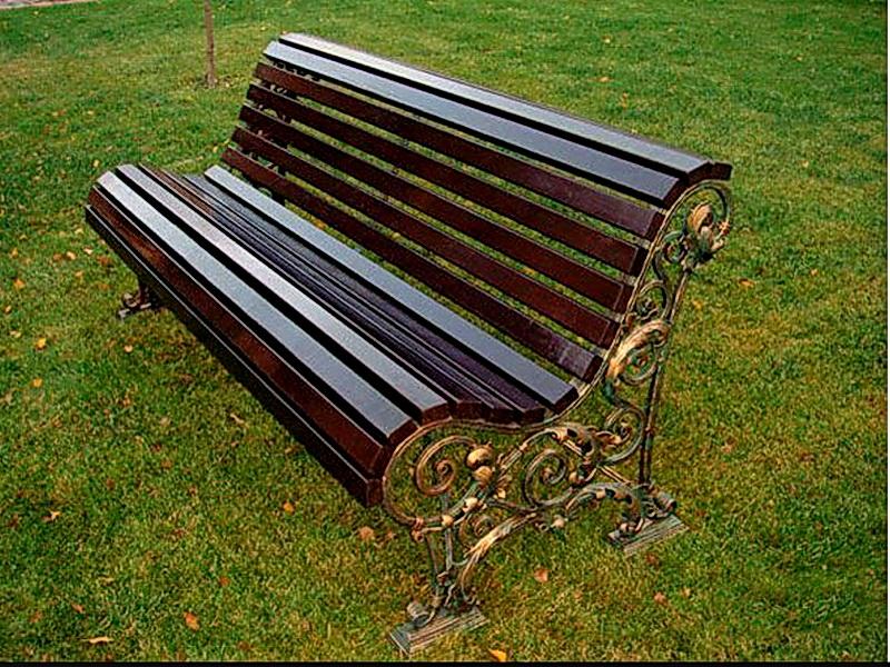 Кованая скамейка N 10943