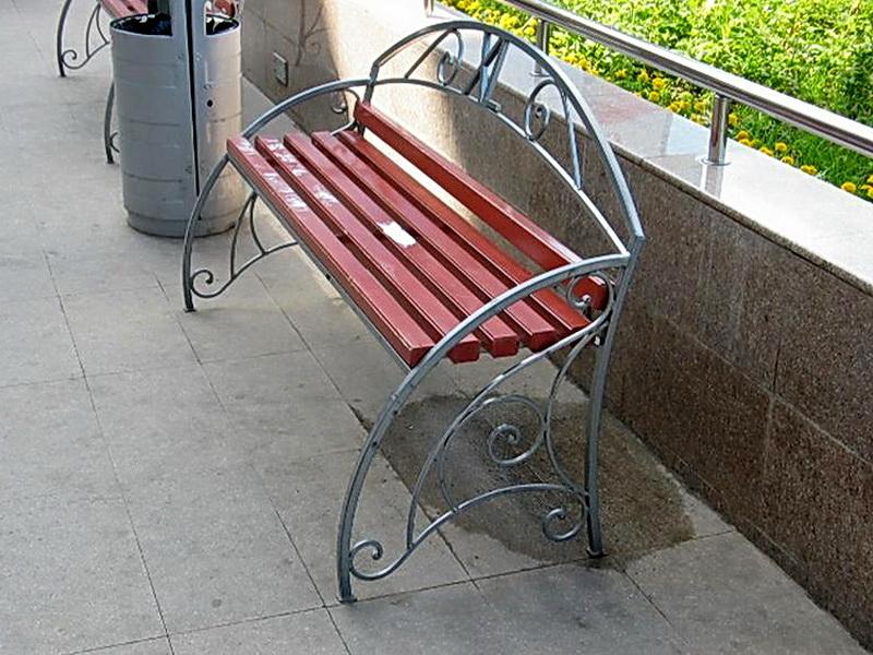 Кованая скамейка N 10961