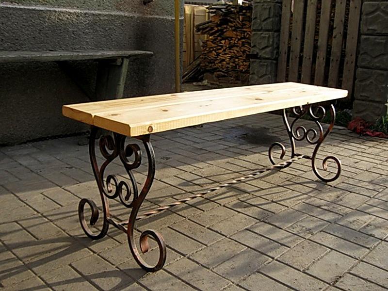 Кованая скамейка N 10962