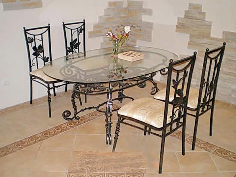 Кованый стол N 10802