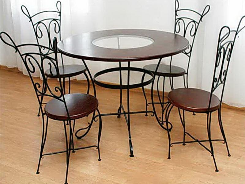 Кованый стол N 10821