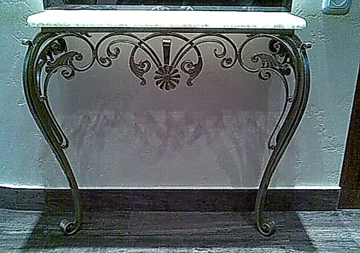 Кованый стол N 10845