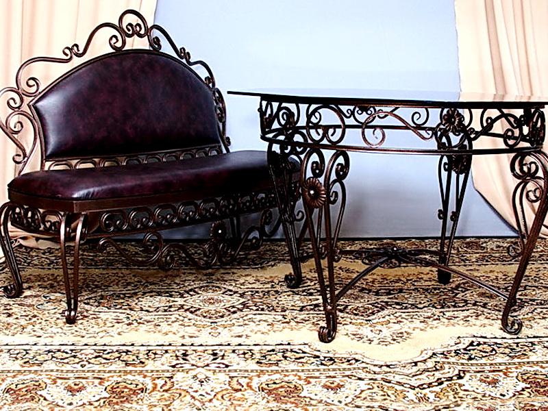 Кованый стол N 10852