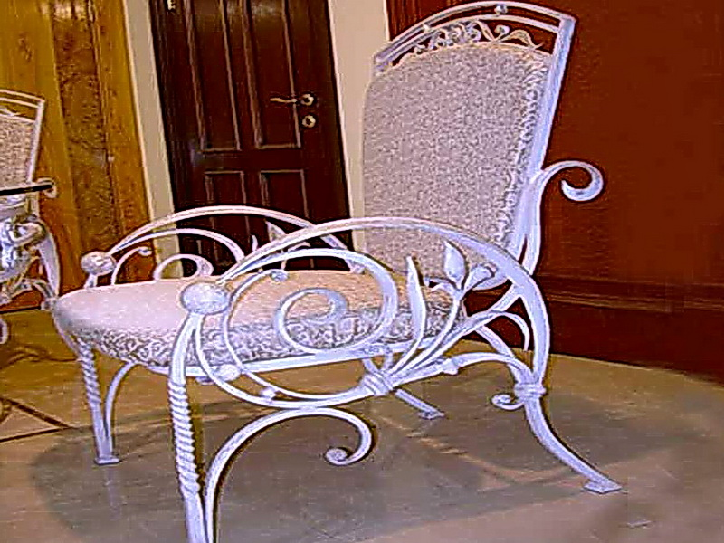 Кованые стулья N 10701