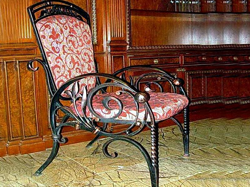 Кованые стулья N 10702
